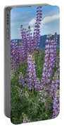 Lupine Blooms Of Bald Hills Portable Battery Charger