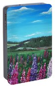 Lupine Hills Portable Battery Charger