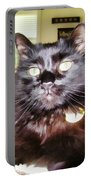 Lura Leigh Kitty Portable Battery Charger