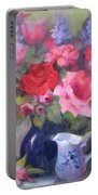 Luscious Roses Portable Battery Charger