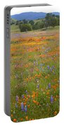 Luscious Spring Wildflowers Portable Battery Charger