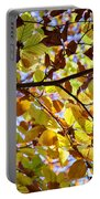 Lush Autumn Tree Portable Battery Charger