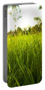 Lush Grass Portable Battery Charger