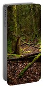 Lush Green Forest Portable Battery Charger