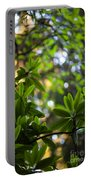 Lush Rhododendron Forest Portable Battery Charger