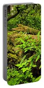 Lush Temperate Rainforest Portable Battery Charger
