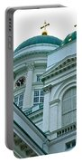 Lutheran Cathedral Of Helsinki-finland Portable Battery Charger