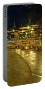 Luxury Hotel At Night Portable Battery Charger