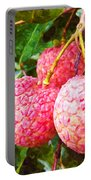 Lychee Fruit  Portable Battery Charger