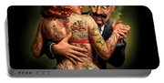 Lydia The Tattooed Lady Portable Battery Charger