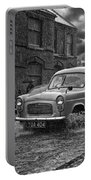 Lye Rain Storm, Ford Prefect Van - 1960's    Ref-244 Portable Battery Charger