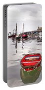Lyme Regis Harbour Abstract Portable Battery Charger