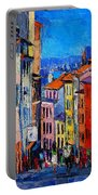Lyon Colorful Cityscape Portable Battery Charger