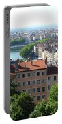 Lyon From Above Portable Battery Charger