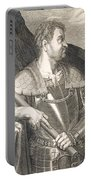 M Silvius Otho Emperor Of Rome Portable Battery Charger by Titian