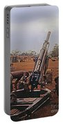 M102 105mm Light Towed Howitzer  2 9th Arty At Lz Oasis R Vietnam 1969 Portable Battery Charger