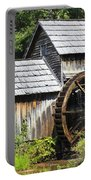 Mabry Mill Close Up Portable Battery Charger