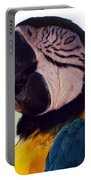 Macaw Head Study Portable Battery Charger