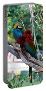 Macaws Of Color24 Portable Battery Charger