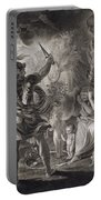 Macbeth, The Three Witches And Hecate Portable Battery Charger
