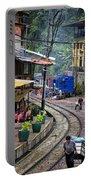 Macchu Picchu Town - Peru Portable Battery Charger