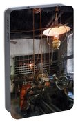 Machine Shop With Lantern Portable Battery Charger