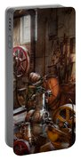 Machinist - A Room Full Of Memories  Portable Battery Charger by Mike Savad