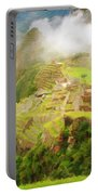 Machu Picchu Textured 2 Portable Battery Charger