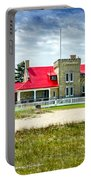 Mackinac Point Lighthouse Michigan Portable Battery Charger