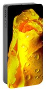 Macro Yellow Rose 2 Portable Battery Charger