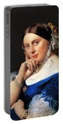 Madame Delphine Ingres Portable Battery Charger