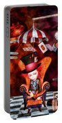 Madness In The Hatter's Realm Portable Battery Charger