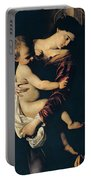 Madonna Di Loreto Portable Battery Charger by Caravaggio