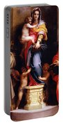 Madonna Of The Harpies Portable Battery Charger