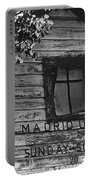 Madrid Union Sunday School Ghost Town Madrid New Mexico 1968-2008 Portable Battery Charger
