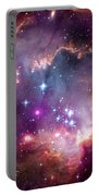 Magellanic Cloud 3 Portable Battery Charger by Jennifer Rondinelli Reilly - Fine Art Photography