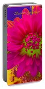 Magenta Greetings Portable Battery Charger