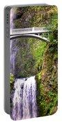 Magic At Multnomah Falls Portable Battery Charger