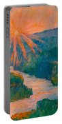 Magic Light At Carvins Cove Portable Battery Charger
