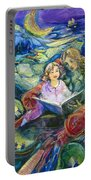 Magical Storybook Portable Battery Charger by Jen Norton