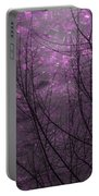 Magically Violet Night Sky Portable Battery Charger