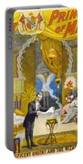 Magician Poster, C1895 Portable Battery Charger