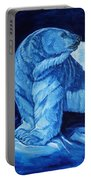 Polar Bear Art Blue Prince Lord Of The North Portable Battery Charger