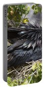 Magnificent Frigatebird Galapagos Portable Battery Charger