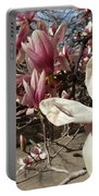 Magnolia Branches Portable Battery Charger