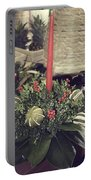 Magnolia Christmas Candle Colonial Williamsburg Portable Battery Charger