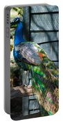 Magnolia Gardens Peacock Portable Battery Charger