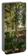 Magnolia Leaves Portable Battery Charger
