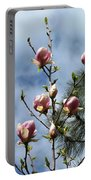 Magnolias In Bud Portable Battery Charger