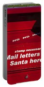 Mail Letters To Santa Here Portable Battery Charger